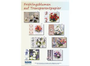 BASTELSETS / CRAFT KITS: Bastelset: Spring flowers on transparent paper