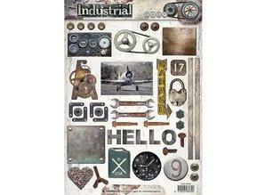 Studio Light A4 Gestantzte 3D sheet: Industrial