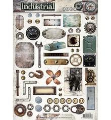 Studio Light A4 Gestantzte 3D ark: Industrial