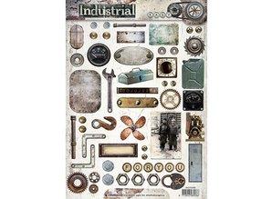 Studio Light A4 Gestantzte 3D Bogen: Industrial