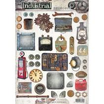 A4 Bogen: Industrial