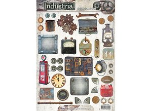 Studio Light A4 sheets: Industrial