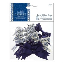 12 Deco slibning store, blå toner, ParisienneBlue