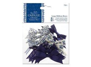 Docrafts / Papermania / Urban 12 Deco slibning store, blå toner, ParisienneBlue