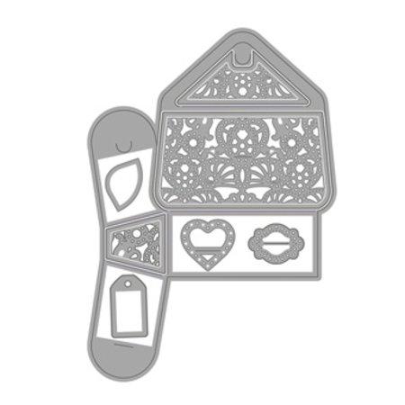 TONIC Stansning og prægning skabelon: en 3D-lomme!