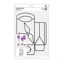 X-Cut / Docrafts A4 Stanz- und Prägeschablone: eine 3D Tasche!