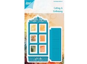 Joy!Crafts und JM Creation Punching and embossing template: Decoratives Window