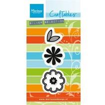 Estampación y embutición de la plantilla: Conjunto de la flor: Sweet