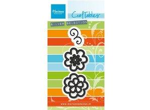 Marianne Design Stanz- und Prägeschablone: Flower set: Fancy