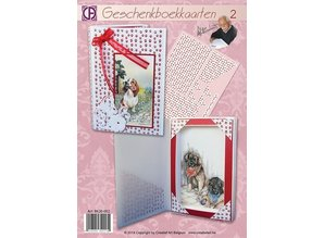 BASTELSETS / CRAFT KITS: A complete craft kit for 2 book cards