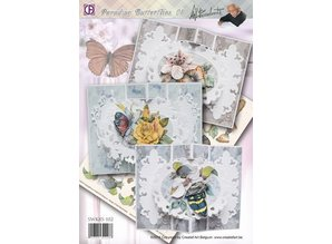 BASTELSETS / CRAFT KITS: Complete Bastelset: Paradise butterflies