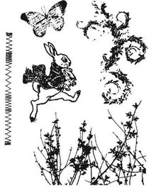 Tim Holtz Stempel Set: Spring Sprung CMS084