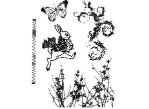 Tim Holtz Stamp Set: Spring jump CMS084