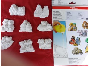 GIESSFORM / MOLDS ACCESOIRES Casting pulver Raysin 100, hvid, taske 1 kg