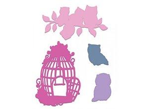 Heartfelt Creations aus USA Stempel Set + matching stempling og prægning stencil
