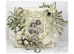 Joy!Crafts und JM Creation Punching and embossing template: Decorative ornamental frame