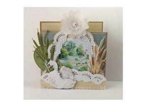 Marianne Design Stansning og prægning skabelon: Tiny s Swan