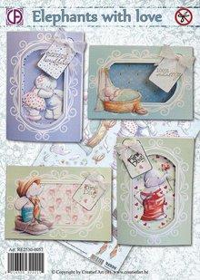 BASTELSETS / CRAFT KITS: Komplettes Karten Bastelset, für viele Anlässe