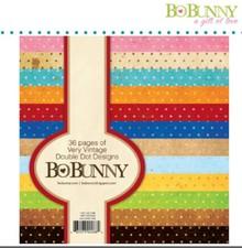 Bo Bunny BoBunny, Designersblock med punkter i vintage farve