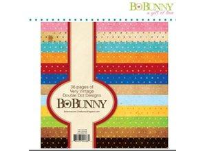 Bo Bunny BoBunny, Designersblock with points in vintage color