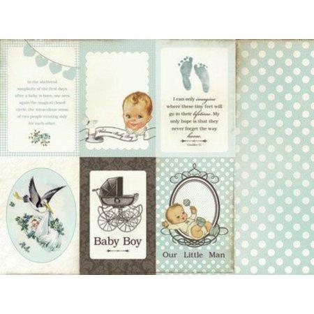 Kaisercraft und K&Company Designer Block: Baby boy