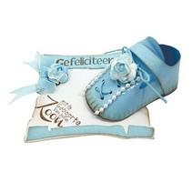 Stanzschablone: 3D Baby Schuhe