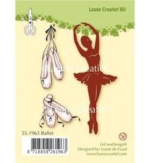 Leane Creatief - Lea'bilities Transparent stamps, Ballet Danser