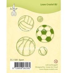 Leane Creatief - Lea'bilities I timbri trasparenti, Sport