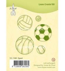 Leane Creatief - Lea'bilities Transparent stamps, Sport