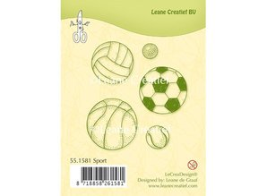 Leane Creatief - Lea'bilities Gennemsigtige frimærker, Sport
