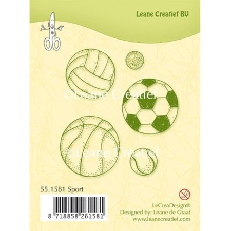 Leane Creatief - Lea'bilities sellos transparentes, Deporte