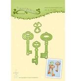 Leane Creatief - Lea'bilities Troquelado y estampado en relieve plantilla: Clave