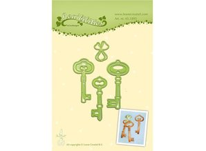 Leane Creatief - Lea'bilities Punching and embossing template: Key
