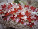 BASTELZUBEHÖR / CRAFT ACCESSORIES Olba Flowers dorn + Gratis 1 Card Set