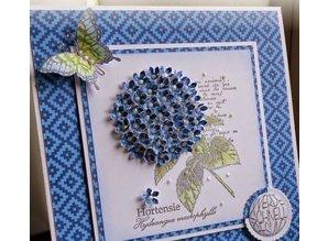 BASTELZUBEHÖR / CRAFT ACCESSORIES Olba Flowers dorn + Gratis 1 Card Set