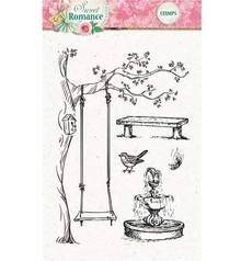 Studio Light Transparent stempel: Sweet Romance