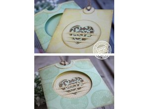 Joy!Crafts und JM Creation Punching and embossing template: Mery's round fantasy