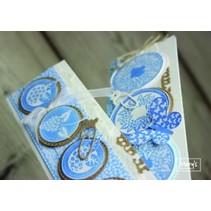 gennemsigtige frimærker