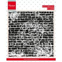 Transparent Stempel: Hintergund Steinen Mauer