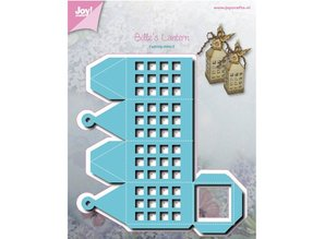 Joy!Crafts und JM Creation Punching and embossing template: lantern, box