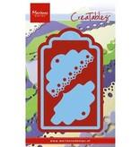 Marianne Design Stansning og prægning skabelon: Label med 2 forskellige artikler