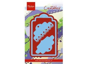 Marianne Design Punching and embossing template: Label with 2 different articles