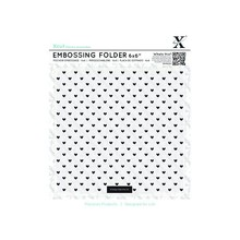 X-Cut / Docrafts Embossing folders with heart