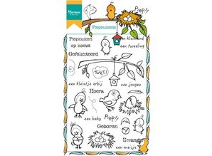 Marianne Design Transparent stempel: Peep kyllinger