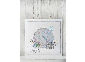 Marianne Design Transparent stamp Solid mice