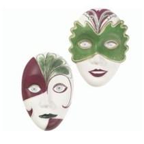 Gießform: 2 Masken