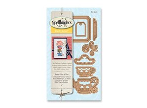 Spellbinders und Rayher Punching and embossing template: Some Like it Hot