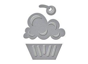 Spellbinders und Rayher Stansning og prægning skabelon: Cupcake