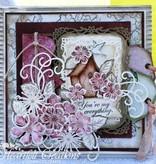 Heartfelt Creations aus USA Stempel Set + passende Stanz- und Prägeschablone
