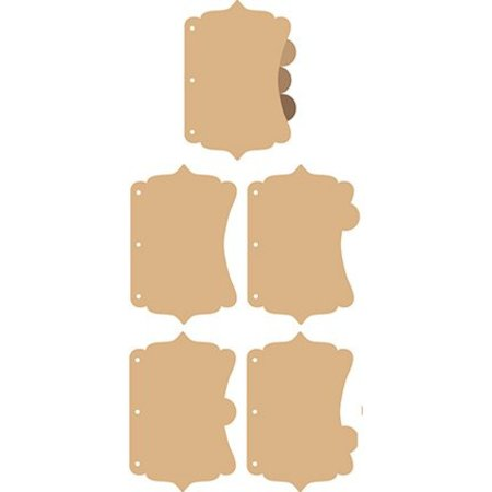 Objekten zum Dekorieren / objects for decorating Vintage Scrap Book, A6